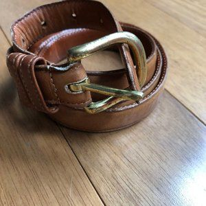 Vintage COACH 6600 Womens Leather Belt Size 38